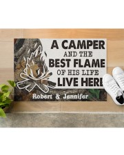 """A Camper DD010814NA Customize Name Doormat 34"""" x 23"""" aos-doormat-34-x-23-lifestyle-front-12"""