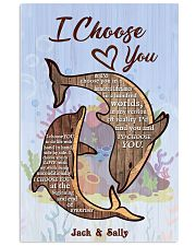 Dolphin Customize Name 11x17 Poster front