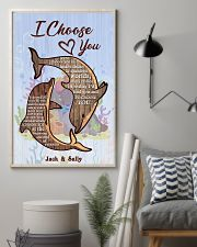 Dolphin Customize Name 11x17 Poster lifestyle-poster-1