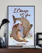 Dolphin Customize Name 11x17 Poster lifestyle-poster-2