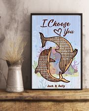 Dolphin Customize Name 11x17 Poster lifestyle-poster-3