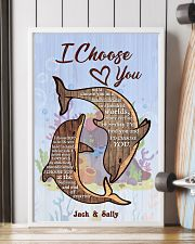 Dolphin Customize Name 11x17 Poster lifestyle-poster-4