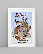 Dolphin Customize Name 11x17 Poster lifestyle-poster-5