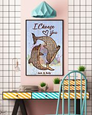 Dolphin Customize Name 11x17 Poster lifestyle-poster-6