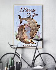 Dolphin Customize Name 11x17 Poster lifestyle-poster-7