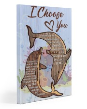 Dolphin Customize Name Gallery Wrapped Canvas Prints tile