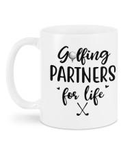 Golfing Partners DD01051NA Customize Name Mug back