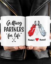 Golfing Partners DD01051NA Customize Name Mug ceramic-mug-lifestyle-24