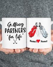 Golfing Partners DD01051NA Customize Name Mug ceramic-mug-lifestyle-32