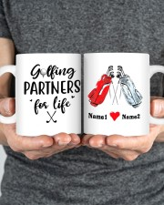 Golfing Partners DD01051NA Customize Name Mug ceramic-mug-lifestyle-34