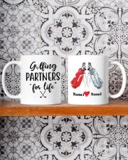 Golfing Partners DD01051NA Customize Name Mug ceramic-mug-lifestyle-47