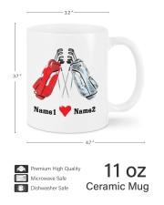 Golfing Partners DD01051NA Customize Name Mug ceramic-mug-lifestyle-62