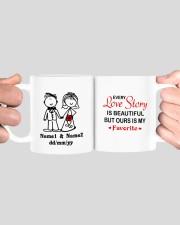 Love Story DD010807MA Customize Name Mug ceramic-mug-lifestyle-41