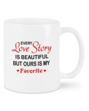 Love Story DD010807MA Customize Name Mug front