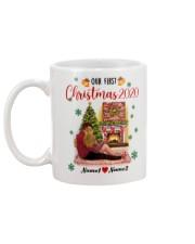 Mug Christmas 2020 Quarantine Personalize Mug back