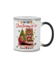 Mug Christmas 2020 Quarantine Personalize Color Changing Mug tile