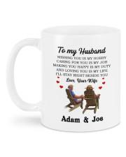 Love DD012510MA Customize Name Mug back