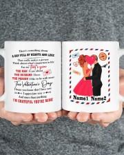 Hearts And Love DD010905DH02 Customize Name Mug ceramic-mug-lifestyle-32