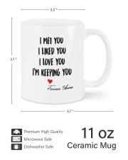 I'm Keeping You DD011326MA Customize Name Mug ceramic-mug-lifestyle-62
