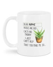 Aloe Vera DD011108MA  Customize Name Mug back