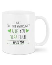 Aloe Vera DD011108MA  Customize Name Mug front