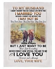 To My Husband DD011607MA Blanket Customize Name Comforter tile