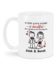 Every Love Story  DD011321MA Customize Name Mug back