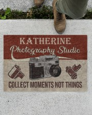 "Photography Studio DD123109MACustomize Name Doormat 34"" x 23"" aos-doormat-34-x-23-lifestyle-front-01"