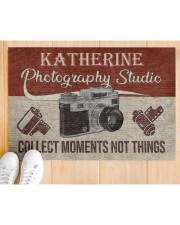 "Photography Studio DD123109MACustomize Name Doormat 34"" x 23"" aos-doormat-34-x-23-lifestyle-front-03"