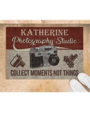 "Photography Studio DD123109MACustomize Name Doormat 34"" x 23"" aos-doormat-34-x-23-lifestyle-front-05"