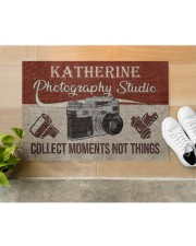 "Photography Studio DD123109MACustomize Name Doormat 34"" x 23"" aos-doormat-34-x-23-lifestyle-front-12"