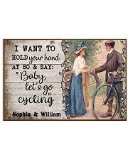 Cycling Customize Name Horizontal Poster tile