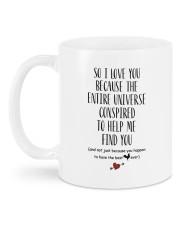I Love You DD012508MA01 Customize Name Mug back