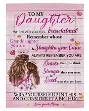 Mother daughter Stronger Pink 2 Blanket Comforter tile