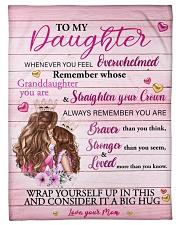 Mother daughter Stronger Pink 2 Blanket Fleece Blanket tile
