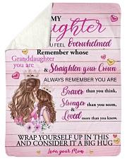 Mother daughter Stronger Pink 2 Blanket Sherpa Fleece Blanket tile