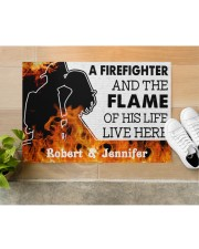 """A Friefighter DD011121NA Customize Name Doormat 34"""" x 23"""" aos-doormat-34-x-23-lifestyle-front-12"""