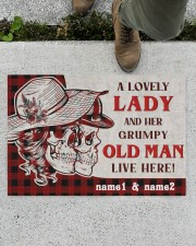 """A Lovely Lady DD010709NA Doormat 34"""" x 23"""" aos-doormat-34-x-23-lifestyle-front-01"""