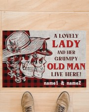 """A Lovely Lady DD010709NA Doormat 34"""" x 23"""" aos-doormat-34-x-23-lifestyle-front-02"""