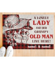 """A Lovely Lady DD010709NA Doormat 34"""" x 23"""" aos-doormat-34-x-23-lifestyle-front-03"""