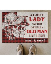 """A Lovely Lady DD010709NA Doormat 34"""" x 23"""" aos-doormat-34-x-23-lifestyle-front-04"""