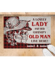 """A Lovely Lady DD010709NA Doormat 34"""" x 23"""" aos-doormat-34-x-23-lifestyle-front-05"""