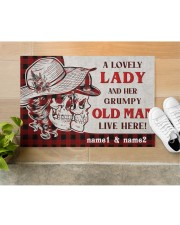 """A Lovely Lady DD010709NA Doormat 34"""" x 23"""" aos-doormat-34-x-23-lifestyle-front-12"""
