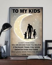 To my kids girl and boy 11x17 Poster lifestyle-poster-2