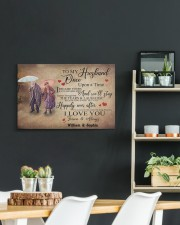 To My Husband DD011604MA Customize Name 24x16 Gallery Wrapped Canvas Prints aos-canvas-pgw-24x16-lifestyle-front-19