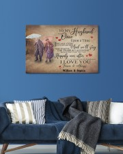 To My Husband DD011604MA Customize Name 24x16 Gallery Wrapped Canvas Prints aos-canvas-pgw-24x16-lifestyle-front-21