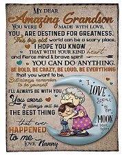 My dear amazing grandson Fleece Blanket tile