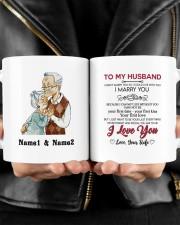 I Marry You DD011314MA Customize Name Mug ceramic-mug-lifestyle-24