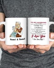 I Marry You DD011314MA Customize Name Mug ceramic-mug-lifestyle-34