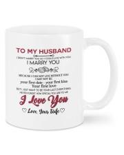 I Marry You DD011314MA Customize Name Mug front